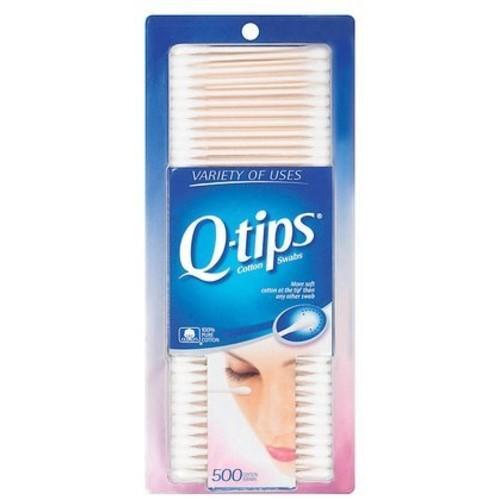 Q-Tips Cotton Swabs 500 ct