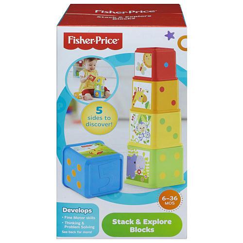 Fisher-Price Stack & Explore Blocks