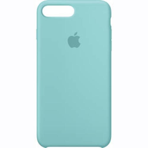 iPhone 7 Plus Silicone Case (Sea Blue)