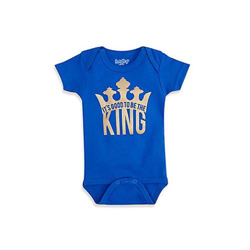 Sara Kety Royal Blue King Infant Snapsuit