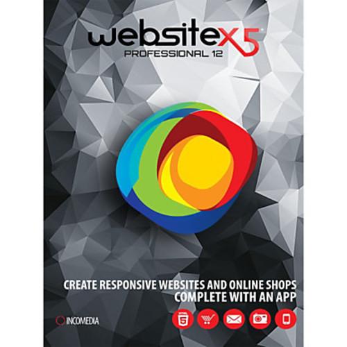 WebSite X5 Professional 12, Download Version