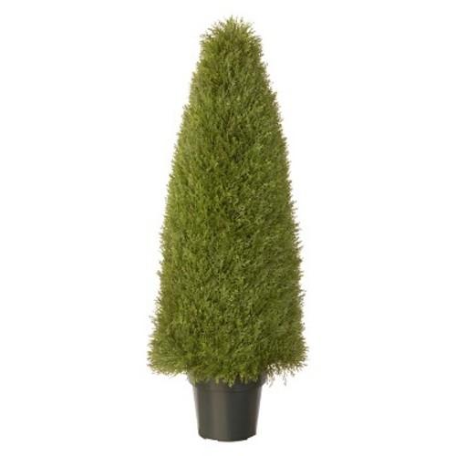 Juniper Slim Spiral with Pot - Green (48\