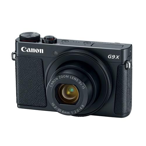 Canon PowerShot G9 X Mark II 20.1MP Digital Camera (Black)