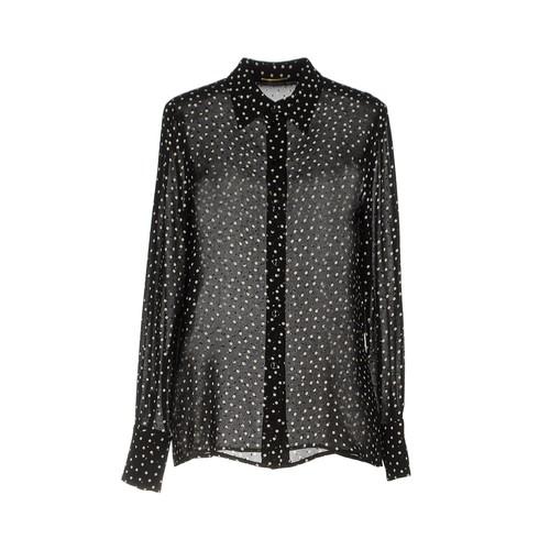 SAINT LAURENT Patterned Shirts & Blouses