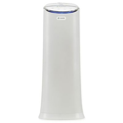 PureGuardian 100-Hour Ultrasonic Cool and Warm Mist Tower Humidifier in White