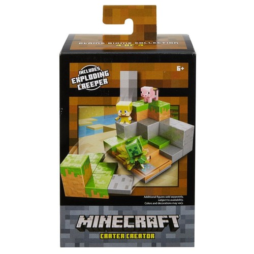 Minecraft Mini Figure Crater Creator Playset