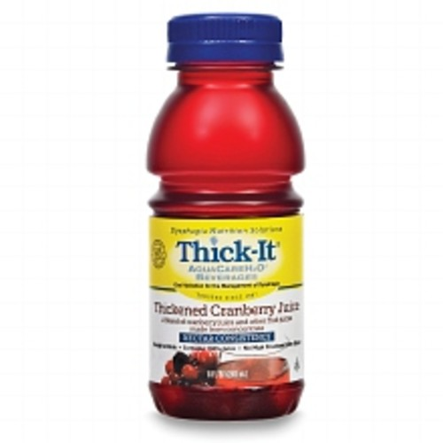 Thick-It AquaCareH20 Thickened Cranberry Juice Nectar Consistency