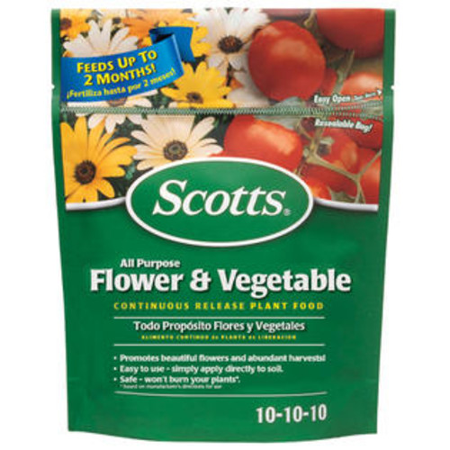 Scotts 1009001 All Purpose Flower & Vegetable Plant Food, 3 Lbs