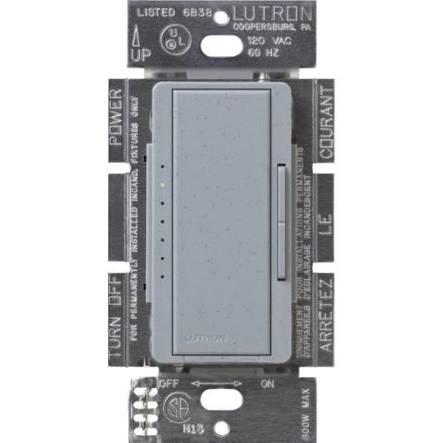 Lutron Maestro C.L Dimmer Switch for Dimmable LED, Halogen & Incandescent Bulbs, Single-Pole or Multi-Location, MACL-153M-BG, Bluestone [Bluestone]