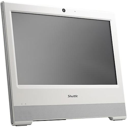 Shuttle X50V5 WHITE All-in-One Computer - Intel Celeron 3855U 1.60 GHz DDR3L SDRAM - 15.6