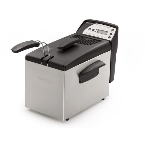 Presto 05462 Digital ProFry Immersion-Element 9-Cup Deep Fryer [Silver, One Size]
