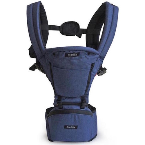 MiaMily Hipster Plus 3D Baby Carrier - Dark Blue