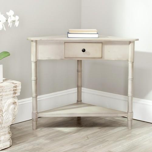 Safavieh Coffee, Console, Sofa & End Tables Safavieh Gomez Grey Corner Table