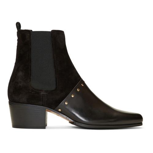 BALMAIN Black Artemisia Chelsea Boots