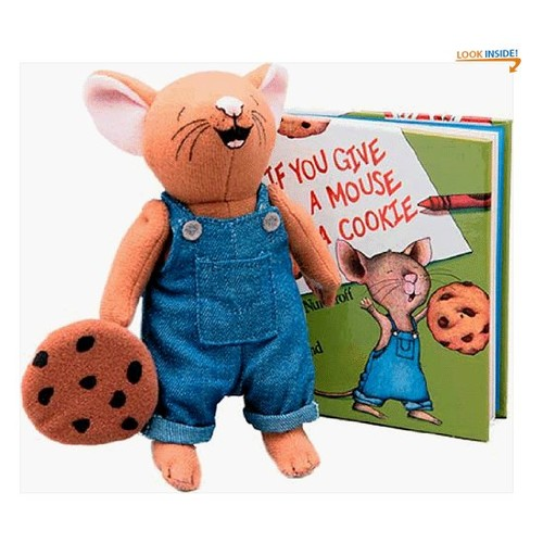 If You Give a Mouse a Cookie Mini Book & Doll