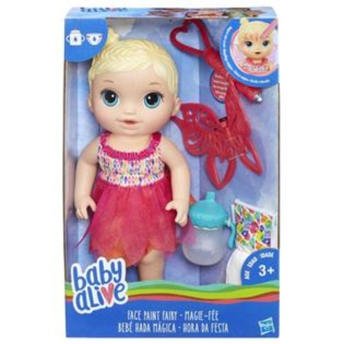 Hasbro Baby Alive Face Paint Fairy Doll - Blonde