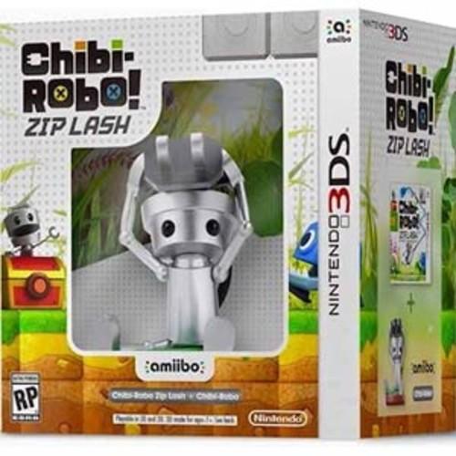 Chibi-Robo!: Zip Lash with Chibi Robo amiibo - Nintendo 3DS