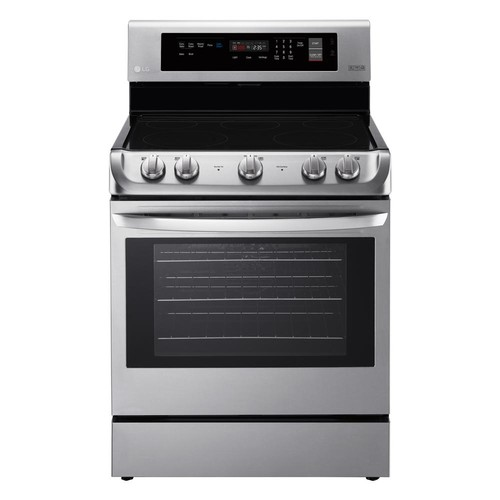 LG Electronics 6.3 cu. ft. Electric Range with ProBake Convection Oven and EasyClean in Stainless Steel