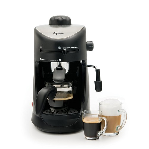 Capresso 303.01 4-Cup Espresso and Cappuccino Machine [Black]