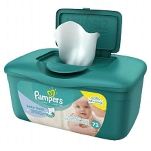 Pampers Soft & Strong Baby Wipes Baby Fresh
