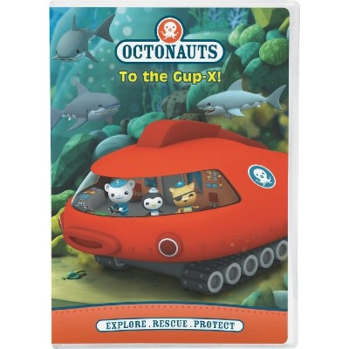 NCircle Entertainment Octonauts To the Gup-X DVD