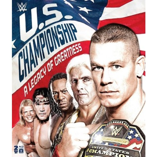 WWE: The U.S. Championship - A Legacy of Greatness [Blu-ray] [2 Discs] [2016]