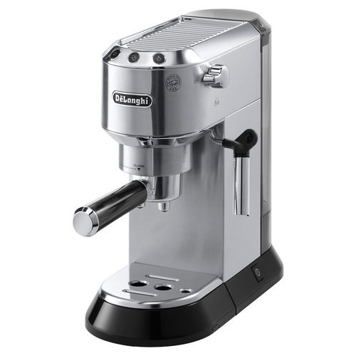 Delonghi EC680M DEDICA 15-Bar Pump Espresso Machine, Stainless Steel [Stainless Steel]