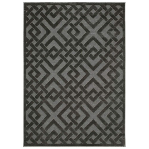 Nourison Overstock Ultima Silver/Grey 2 ft. x 4 ft. Area Rug