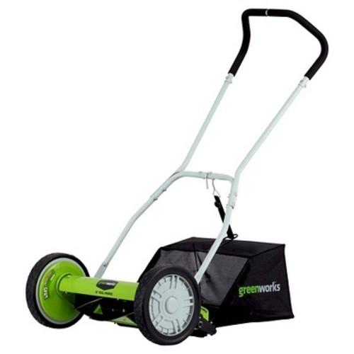 GreenWorks 16 Inch Reel Mower