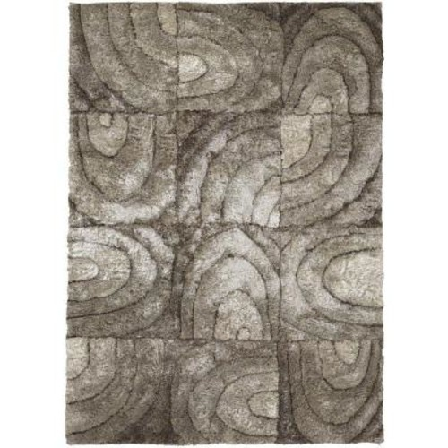 Chandra Flemish Taupe/Cream/Beige 5 ft. x 7 ft. 6 in. Indoor Area Rug