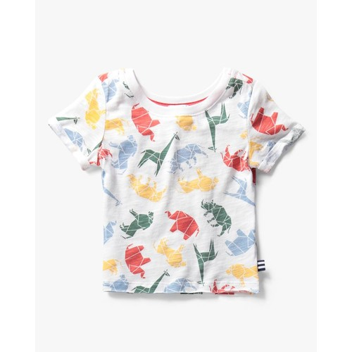 Baby Boy Origami All Over Print Tee