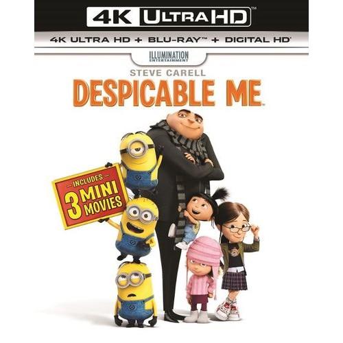 Despicable Me [Includes Digital Copy] [UltraViolet] [4K Ultra HD Blu-ray] [2 Discs] [2010]