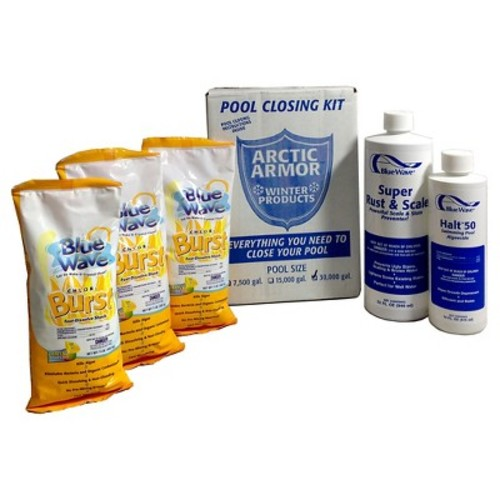 Blue Wave Chlorine Pool Winterizing Kit - Large to 30,000 Gallons