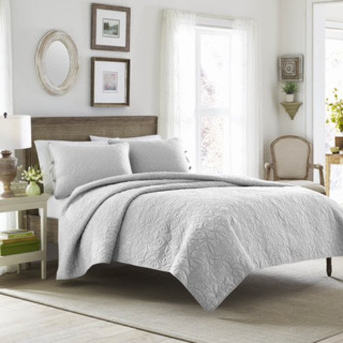Stream Curve Cotton Quilt Set