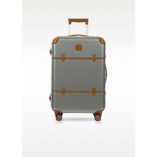 Bellagio Metallo V2.0 25 Silver Carry-On Spinner Trunk