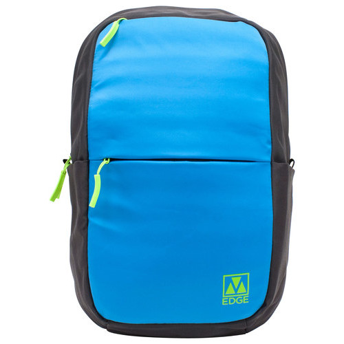 M-Edge Accessories - Laptop Backpack - Blue/Gray