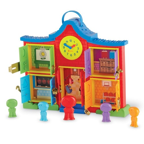 Learning Resources Latch & Learn School House - Latch & Learn School House