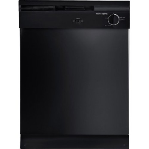 Frigidaire 24 Inch Built In Dishwasher Black 2 Cycle 1Option   HD Supply
