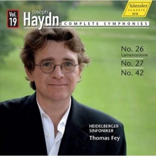 Haydn Complete Symphonies Vol 19 CD (2013)
