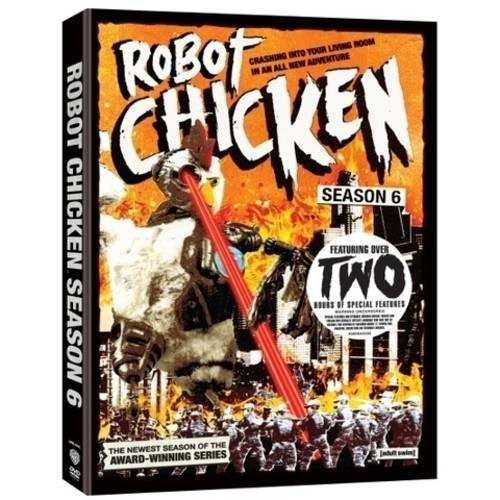 Robot Chicken: Season Six (2 Disc) - 2 Pack AC3 Dolby - DVD