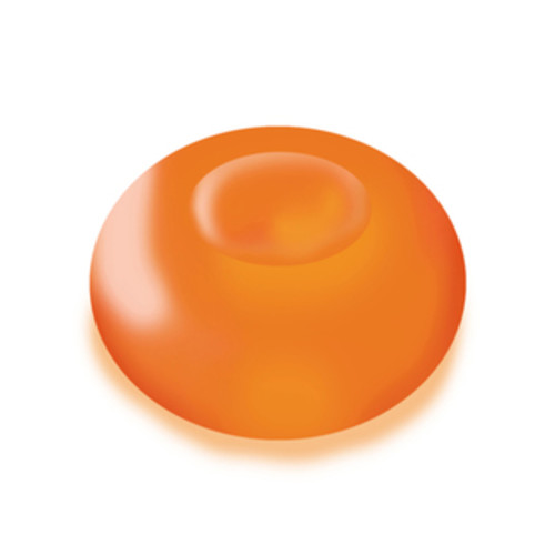 Floating Orange Battery Operated LED Light (Set of 12)