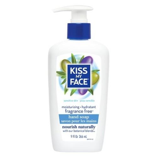 Kiss My Face Fragrance Free Moisturizing Hand Soap 9 oz