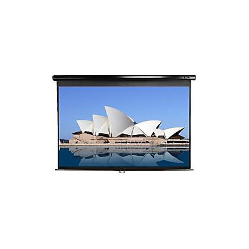 Elite Screens M109UWX Manual Pull Down Projector Screen