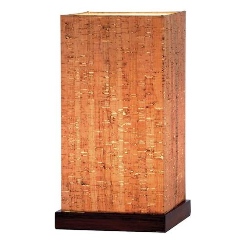 Adesso 4083-15 Sedona Walnut Table Lantern
