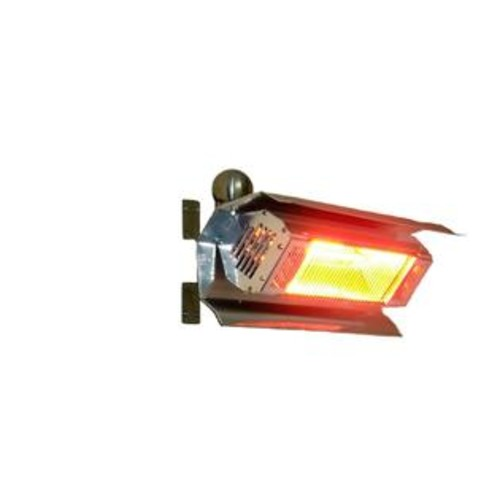 Fire Sense Stainless Steel Wall Mounted Infrared Patio Heater per EA