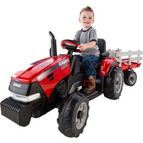 Peg-Perego Case IH Tractor and Trailer