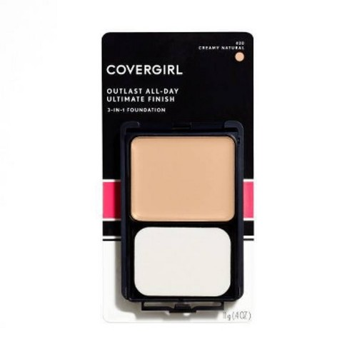 COVERGIRL Ultimate Finish Foundation - .4 oz 420 Creamy Natural