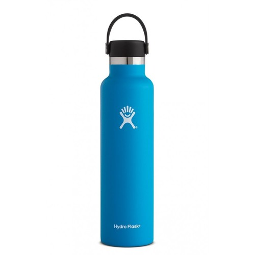 Hydro Flask - Stainless Steel Water Bottle Vacuum Insulated Standard Mouth with Flex Cap Pacific - 24 oz.