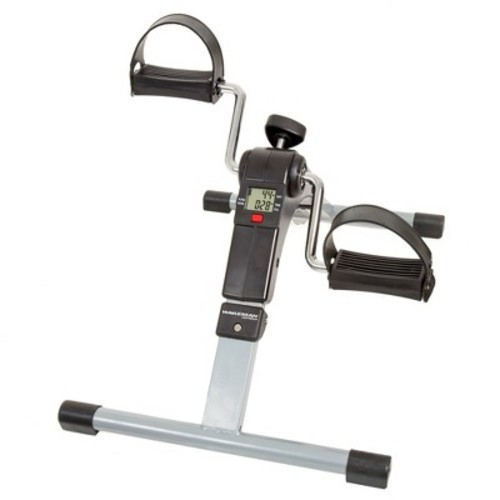 Wakeman Folding Pedal Exerciser with Electronic Display