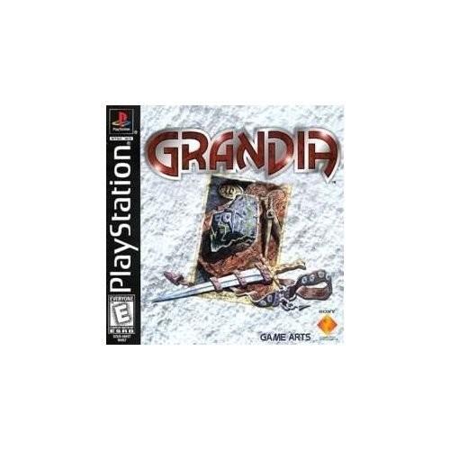 Grandia [Disc, PlayStation]